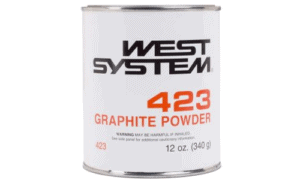 West System 423 Graphite Powder 12 ounces