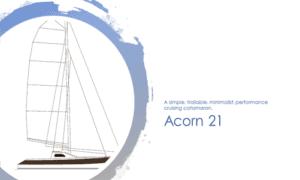 Acorn 21 Boat Plans (AC21)