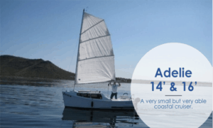 Adelie 16 Boat Plans (AD16)