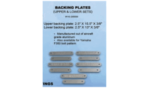 BMS Transom Backing Plates