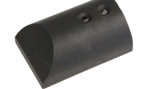 Rub rail endcap, black