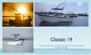Classic 19 Center Console Boat Plans (C19)