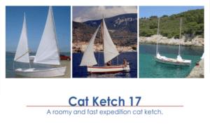 Cat Ketch 17 Boat Plans (CK17)