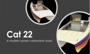 Cat 22 Boat Plans (CT22)