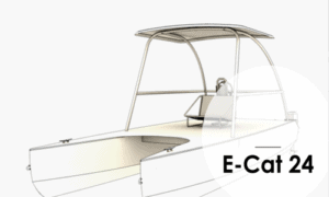 E-Cat 24 Boat Plans (EC24)
