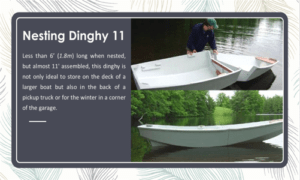 Nesting Dinghy 11 Boat Plans (FB11)