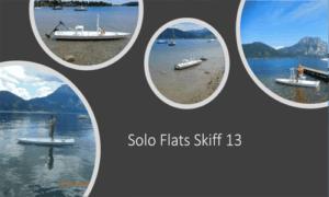 Solo Flats Skiff Boat Plans (FS13)