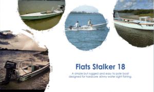Flats Stalker 18 Boat Plans (FS18)