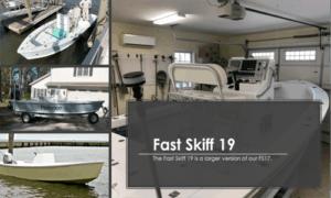 Fast Skiff 19 Boat Plans (FS19)