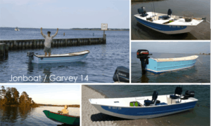 Jon Boat / Garvey 14 Boat Plans (GF14)