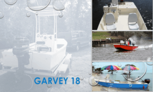 Garvey 18 Boat Plans (GF18)