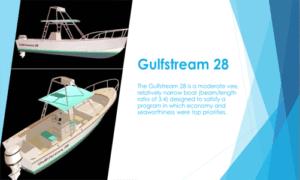 GulfStream 28 Boat Plans (GS28)