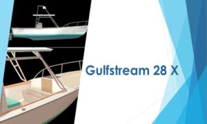 Gulfstream 28 X Boat Plans (GS28X)