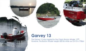 Jon Boat / Garvey 13 Boat Plans (GV13)