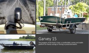 Jon Boat / Garvey 15 Boat Plans (GV15)