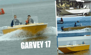 Garvey 17 Boat Plans (GV17)