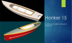 The Honker 15 Boat Plans (HK15)