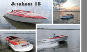 Jetabout 18 Boat Plans (JA18)
