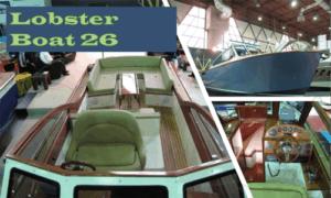 Lobster Boat 26 Boat Plans (LB26)