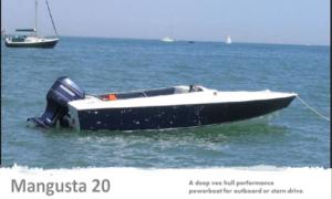 Mangusta 20 Boat Plans (MG20)