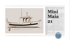 Mini Maia 21 Boat Plans (MM21)