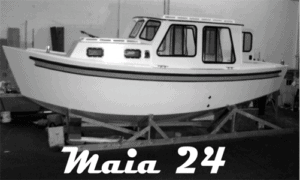Maia 24 Boat Plans (MT24)