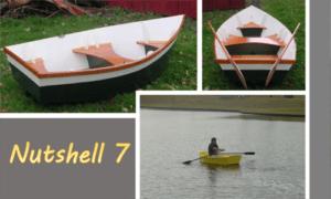 Nutshell 7 Boat Plans (N7)