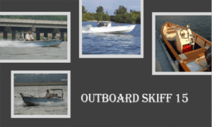 Outboard Skiff 15 Boat Plans (OB15)
