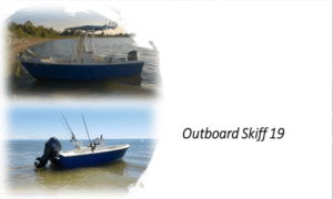 Outboard Skiff 19 Boat Plans (OB19)