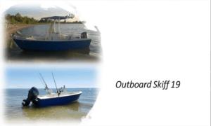 Outboard Skiff 19 Boat Plans (OB19)