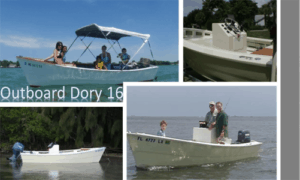 Outboard Dory 16 Boat Plans (OD16)