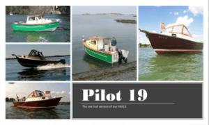 Pilot 19 Boat Plans (P19)