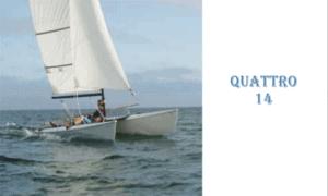 Quattro 14 Boat Plans (QTR14)
