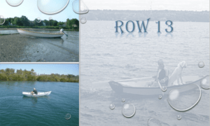 Row 13 Boat Plans (R13)