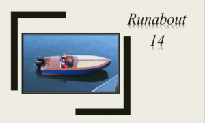 Runabout 14 Boat Plans (RB14)