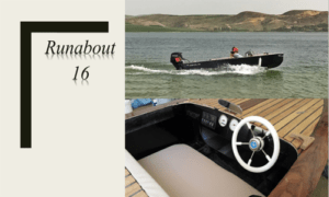 Runabout 16 Boat Plans (RB16)