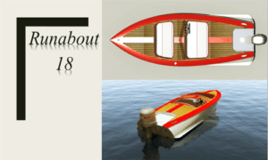Runabout 18 Boat Plans (RB18)