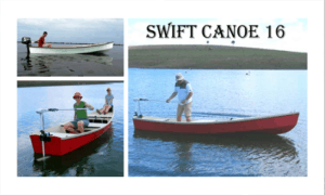 The Swift Canoe 16 Boat Plans (SC16)