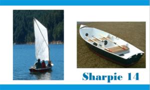 Sharpie 14 Boat Plans (SH14)