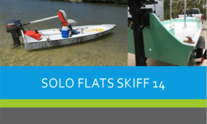 Solo Flats Skiff Boat Plans (SK14)