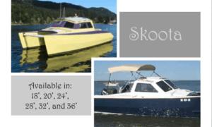 Skoota 18 Boat Plans (SK18)