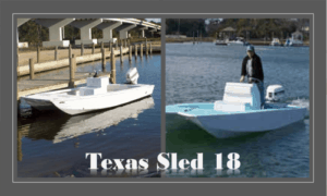 Texas Sled 18 Boat Plans (TX18)