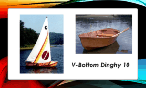 V-Bottom Dinghy 10 Boat Plans (V10)