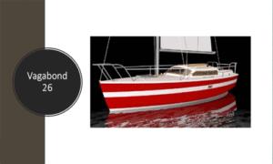 Vagabond 26 Boat Plans (VG26)