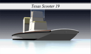 Texas Scooter 19 Boat Plans (XFTS19)