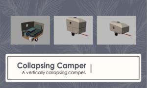 Collapsing Camper Boat Plans