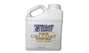 Gelcoat (With Wax) 1 Gallon
