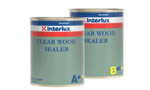 Interlux Clear Wood Sealer Two Part Kit