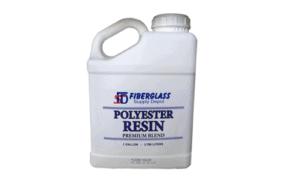 Polyester Resin, 1 Gallon