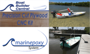 Complete Marinepoxy/CNC Kit Solo Flats Skiff 14 SK14